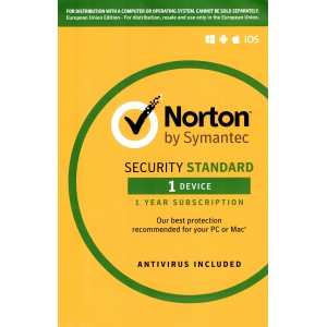 Norton Security 2019 Standard | 1 Devices | 1 Year | OEM Digital (ESD/EU)