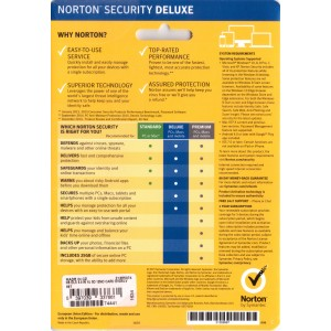 Norton Security Deluxe | 3 Devices | 3 Years | Digital (ESD/EU)